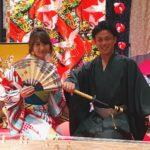 可爱的日本情侣