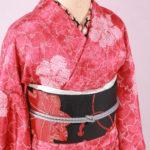[Authentic Silk Kimono Rental]