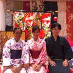 來自緬甸及日本的客人