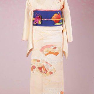 正絹のレンタル着物