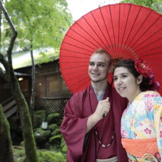 大人気 姫、花魁、サムライ 撮影