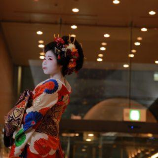 奈良のまちに突如