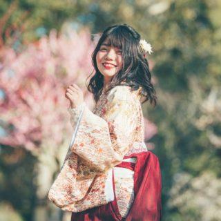 桜開花🌸着物でお花見👘